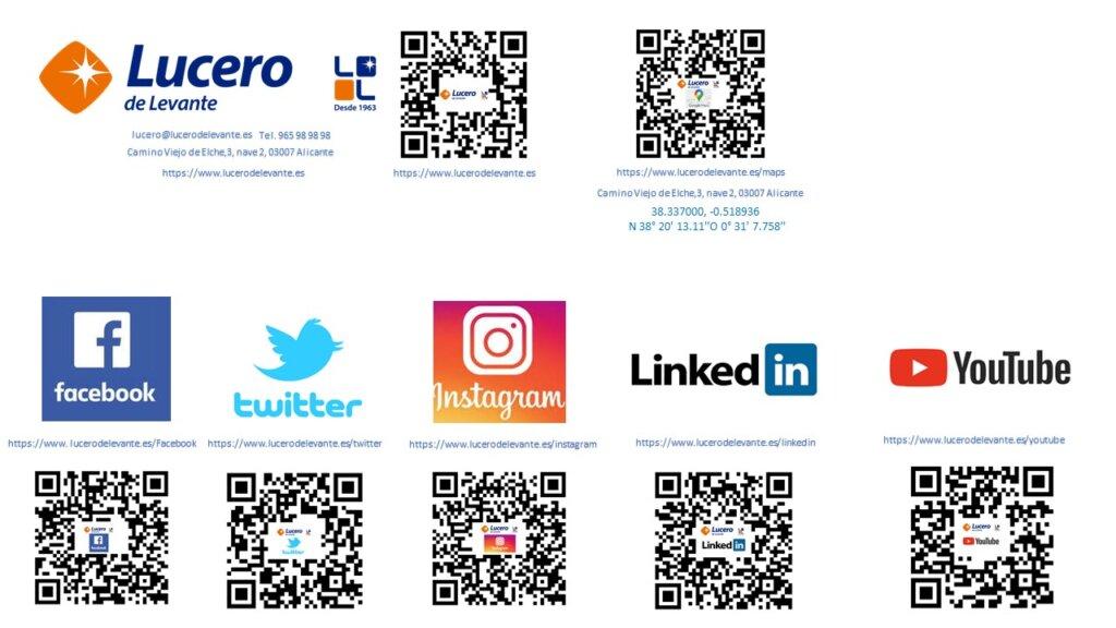 Redes Sociales de Lucero de Levante