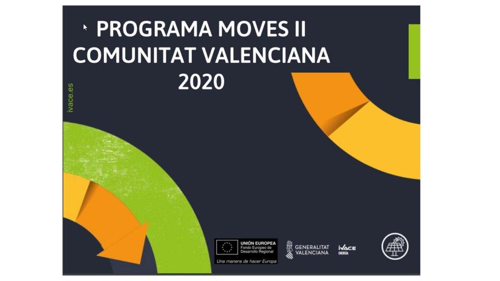 PROGRAMA MOVES II COMUNITAT VALENCIANA 2020