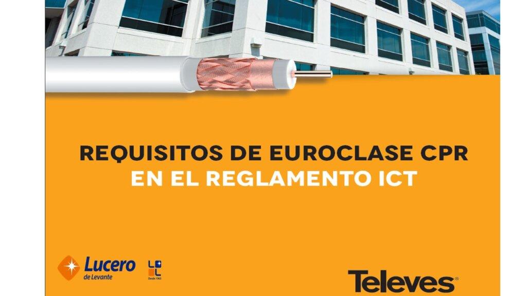 Cables coaxiales según normativa  CPR para ICT